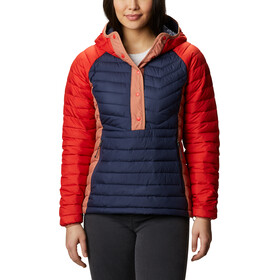 Columbia Powder Lite Isolierender Anorak Damen nocturnal/bold orange/nova pink